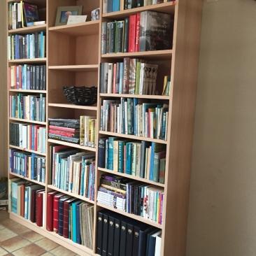 Boekenkast, massief beukenhout